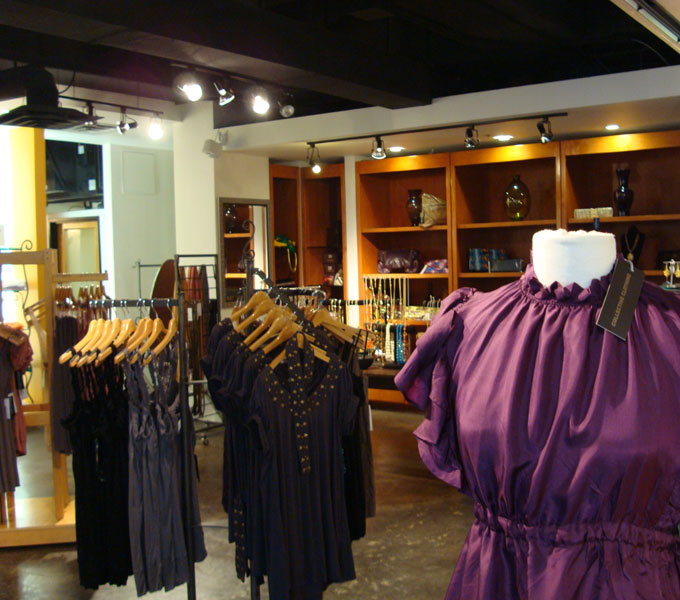 Chic Clothing Store at Mockingbird Station   Small and Stylish